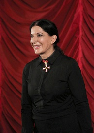 Marina Abramović, one of the world's leading performance artists