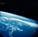 Photo taken by 70 mm Earth-Sky Camera mounted on the spacecraft