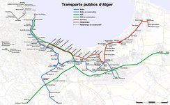 Public transport of Algiers
