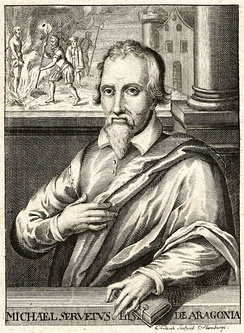 Michael Servetus exchanged many letters with Calvin until he was denounced by Calvin and executed.