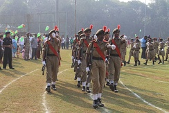 NCC at IIT Bombay during Republic Day parade