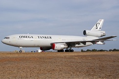 Omega's KDC-10 tanker in March 2009