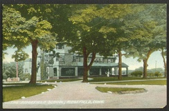The Ridgefield School (postcard sent in 1909)