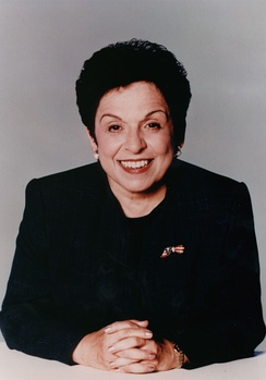 Shalala during her tenure as the Secretary of Health and Human Services.