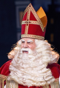 Saint Nicholas, known as Sinterklaas in the Netherlands, is considered by many to be the original Santa Claus[51]