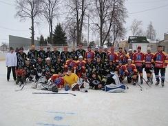 Любительская сборная г. Скопина по хоккею