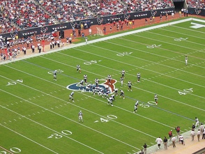 The Texans host the Tennessee Titans, October 9, 2005