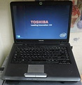 A Toshiba Satellite A300 notebook