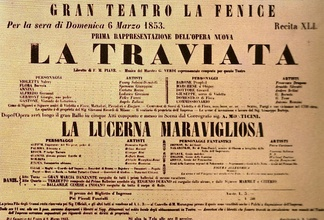Poster for the world premiere