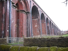 Whalley Arches, east side, from the road