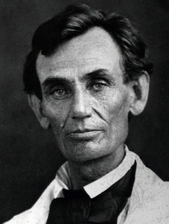 Abraham Lincoln in May 1858