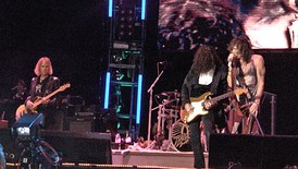 Aerosmith performing at Quilmes Rock in Buenos Aires, Argentina on April 15, 2007