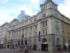 Railway lines serve the western, southern and eastern parts of the city from the Britomart Transport Centre.