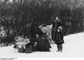 Refugees, Upper Silesia, January 1945