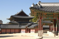 Changdeok Palace, one of the five royal palaces during Joseon Dynasty.