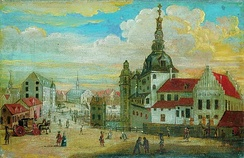 Copenhagen Castle in 1698