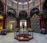 The octagon room at Crossness Pumping Station, Belvedere, Kent