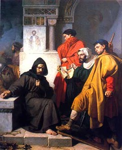 19th-century Italian painting, The Iconoclasts, by Domenico Morelli
