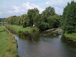 The Danube's source confluence: the Donauzusammenfluss, the confluence of Breg and Brigach.