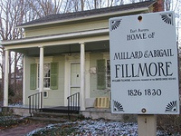 Fillmore's East Aurora house was moved off Main Street.