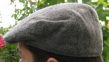 A flat cap associated with the stereotypical Yorkshireman