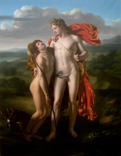 Apollo and Cyparissus, by Jean-Pierre Granger (1779–1840)
