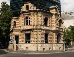 Headquarters of the Union of Romanian Architects, an unusual combination of new and old