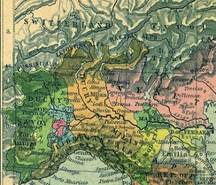 Northern Italy after the Peace of Lodi