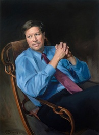 Official congressional portrait of Kasich as chairman of the House Budget committee.