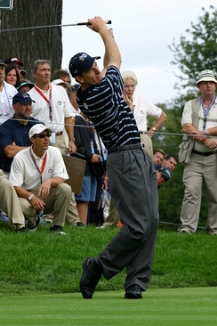 Furyk at the 2004 Ryder Cup
