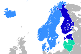 Language branches in Northern Europe   North Germanic (Iceland and Scandinavia)   Finnic (Finland, Estonia)   Baltic (Latvia, Lithuania)