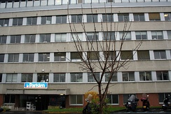 Head office of Le Parisien