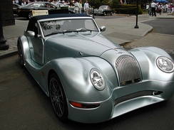 A Modern Morgan Aero 8 at the Scarsdale Concours