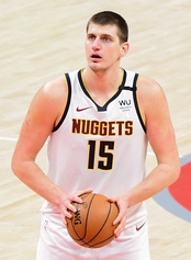 Nikola Jokić was selected 41st overall by the Denver Nuggets.