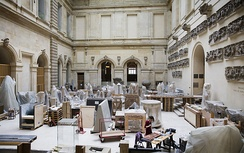 Restoration workshops in the Louvre