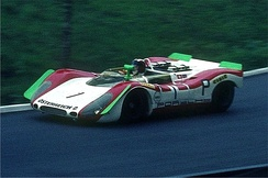 Porsche won the 1969 International Championship for Makes with the Group 6 Porsche 908