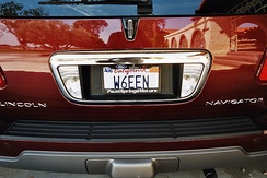 All U.S. states issue call sign license plates for motor vehicles owned by amateur radio operators. This road vehicle is from California.
