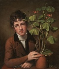 Rembrandt Peale, Rubens Peale With a Geranium, 1801, National Gallery of Art, Washington, D.C.