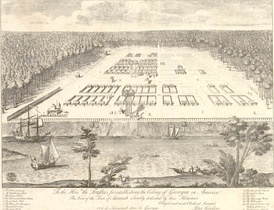 Savannah colony, 18th century