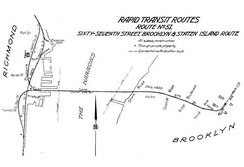 This proposed Staten Island Tunnel would have branched off at 66th Street.