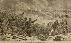 The Battle of Gettysburg, fought between Union and Confederate forces on July 1–3, 1863 around the town of Gettysburg, Pennsylvania, marked a turning point in the American Civil War.