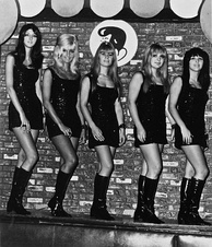 The Pleasure Seekers (Suzi Quatro far right) in 1966