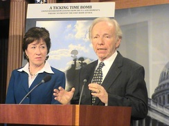 Senate Homeland Security and Governmental Affairs Committee Chairman Lieberman and Ranking Member Susan Collins address bipartisan suggestion on countermeasures toward Islamist extremism & domestic terrorism in U.S.
