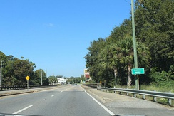 US 90 over the Chipola River in Mariana