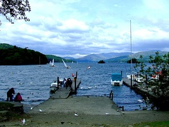 View of Windermere from Bowness-on-Windermere