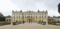 "The Rococo Branicki Palace in Białystok, sometimes referred to as the ""Polish Versailles"""