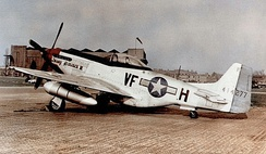 P-51D of the 336th Fighter Squadron[note 1]