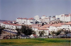 Betar Illit, one of the four biggest settlements in the West Bank