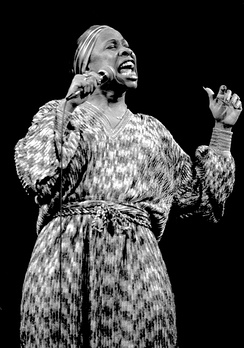 Vocalist Betty Carter in 1979