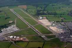 Bristol Airport, which is located in North Somerset